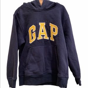Gap Kids Navy Blue Pull Over Hoodie Size Small